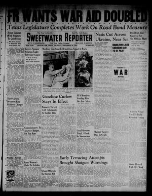Primary view of object titled 'Sweetwater Reporter (Sweetwater, Tex.), Vol. 45, No. 94, Ed. 1 Thursday, September 18, 1941'.