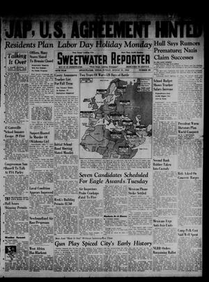 Primary view of object titled 'Sweetwater Reporter (Sweetwater, Tex.), Vol. 45, No. 80, Ed. 1 Sunday, August 31, 1941'.