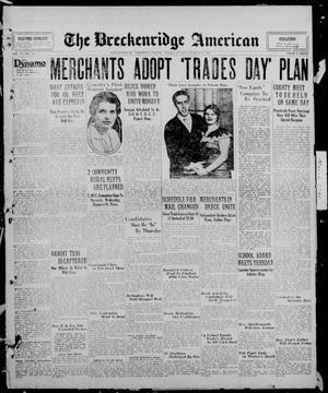 Primary view of The Breckenridge American (Breckenridge, Tex.), Vol. 10, No. 90, Ed. 1, Sunday, March 16, 1930