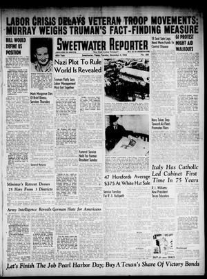 Primary view of object titled 'Sweetwater Reporter (Sweetwater, Tex.), Vol. 48, No. 285, Ed. 1 Tuesday, December 4, 1945'.