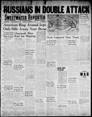 Primary view of object titled 'Sweetwater Reporter (Sweetwater, Tex.), Vol. 45, No. 291, Ed. 1 Monday, November 23, 1942'.