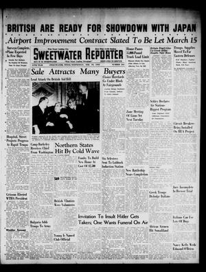 Primary view of object titled 'Sweetwater Reporter (Sweetwater, Tex.), Vol. 44, No. 241, Ed. 1 Wednesday, February 19, 1941'.
