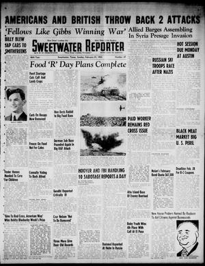 Primary view of object titled 'Sweetwater Reporter (Sweetwater, Tex.), Vol. 46, No. 47, Ed. 1 Sunday, February 21, 1943'.