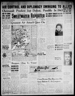 Primary view of object titled 'Sweetwater Reporter (Sweetwater, Tex.), Vol. 46, No. 56, Ed. 1 Monday, March 1, 1943'.
