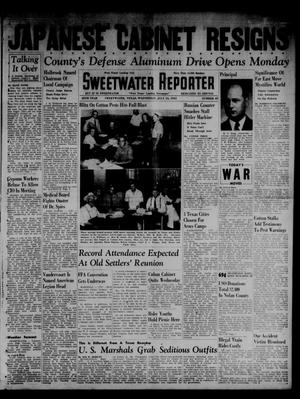 Primary view of object titled 'Sweetwater Reporter (Sweetwater, Tex.), Vol. 45, No. 45, Ed. 1 Wednesday, July 16, 1941'.