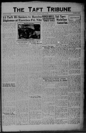 Primary view of object titled 'The Taft Tribune (Taft, Tex.), Vol. 11, No. 3, Ed. 1 Thursday, May 21, 1931'.