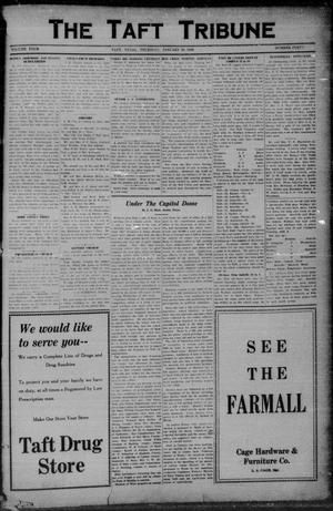 Primary view of object titled 'The Taft Tribune (Taft, Tex.), Vol. 4, No. 40, Ed. 1 Thursday, January 29, 1925'.