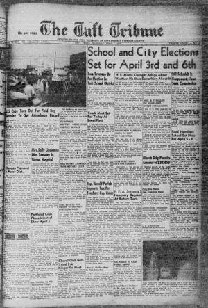 Primary view of object titled 'The Taft Tribune (Taft, Tex.), Vol. 32, No. 4, Ed. 1 Thursday, April 1, 1954'.