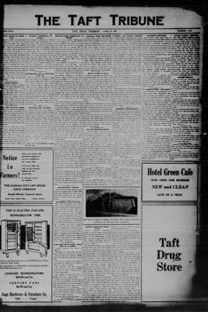 Primary view of object titled 'The Taft Tribune (Taft, Tex.), Vol. 5, No. 1, Ed. 1 Thursday, April 30, 1925'.
