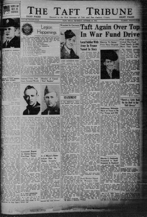 Primary view of object titled 'The Taft Tribune (Taft, Tex.), Vol. 24, No. 24, Ed. 1 Thursday, October 19, 1944'.