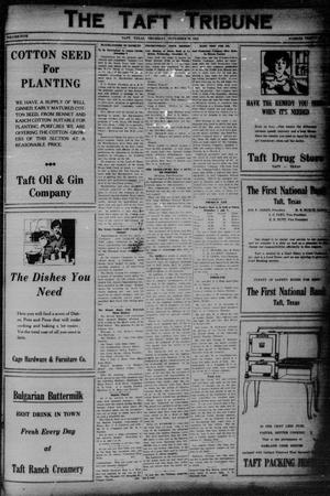 Primary view of object titled 'The Taft Tribune (Taft, Tex.), Vol. 5, No. 31, Ed. 1 Thursday, November 26, 1925'.