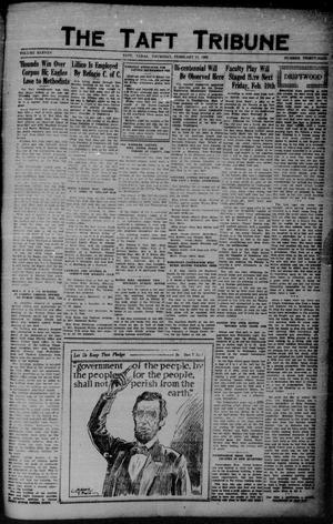 Primary view of object titled 'The Taft Tribune (Taft, Tex.), Vol. 11, No. 39, Ed. 1 Thursday, February 11, 1932'.