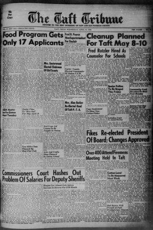 Primary view of object titled 'The Taft Tribune (Taft, Tex.), Vol. 37, No. 7, Ed. 1 Wednesday, April 15, 1959'.
