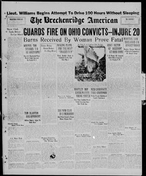 Primary view of object titled 'The Breckenridge American (Breckenridge, Tex.), Vol. 10, No. 128, Ed. 1, Tuesday, April 29, 1930'.