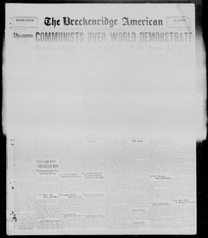 Primary view of object titled 'The Breckenridge American (Breckenridge, Tex.), Vol. 10, No. 130, Ed. 1, Thursday, May 1, 1930'.