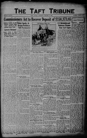 Primary view of object titled 'The Taft Tribune (Taft, Tex.), Vol. 11, No. 35, Ed. 1 Thursday, January 14, 1932'.