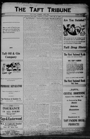 Primary view of object titled 'The Taft Tribune (Taft, Tex.), Vol. 5, No. 49, Ed. 1 Thursday, April 1, 1926'.