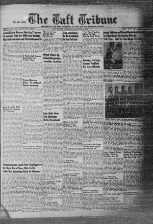 Primary view of object titled 'The Taft Tribune (Taft, Tex.), Vol. 32, No. 46, Ed. 1 Thursday, January 20, 1955'.