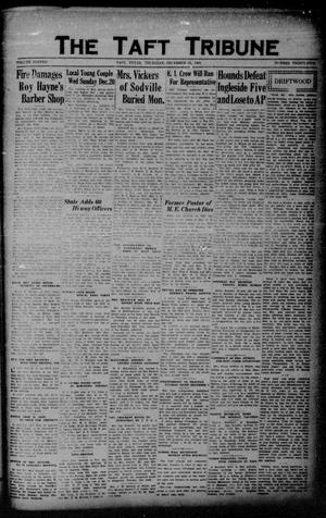 Primary view of object titled 'The Taft Tribune (Taft, Tex.), Vol. 11, No. 35, Ed. 1 Thursday, December 31, 1931'.