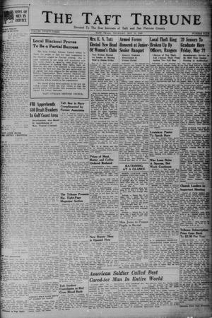 Primary view of object titled 'The Taft Tribune (Taft, Tex.), Vol. 23, No. 4, Ed. 1 Thursday, May 13, 1943'.