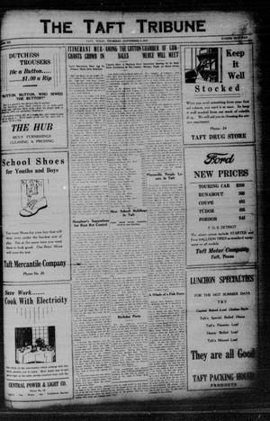 Primary view of object titled 'The Taft Tribune (Taft, Tex.), Vol. 6, No. 18, Ed. 1 Thursday, September 2, 1926'.