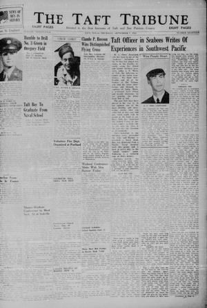 Primary view of object titled 'The Taft Tribune (Taft, Tex.), Vol. 24, No. 18, Ed. 1 Thursday, September 7, 1944'.