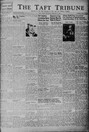 Primary view of object titled 'The Taft Tribune (Taft, Tex.), Vol. 22, No. 43, Ed. 1 Thursday, February 11, 1943'.