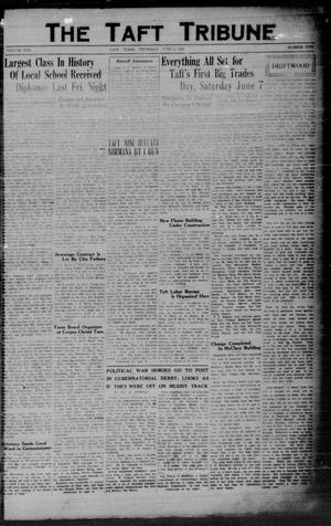 Primary view of object titled 'The Taft Tribune (Taft, Tex.), Vol. 10, No. 5, Ed. 1 Thursday, June 5, 1930'.