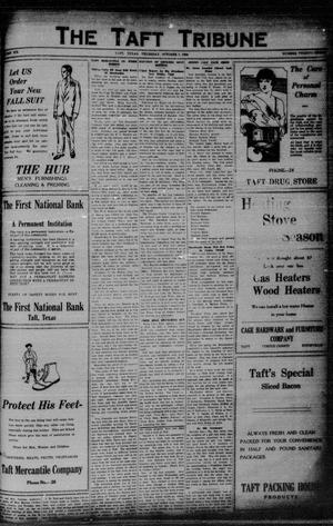 Primary view of object titled 'The Taft Tribune (Taft, Tex.), Vol. 6, No. 23, Ed. 1 Thursday, October 7, 1926'.