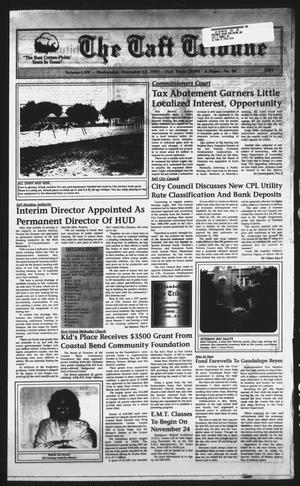 Primary view of object titled 'The Taft Tribune (Taft, Tex.), Vol. 64, No. 46, Ed. 1 Wednesday, November 12, 1997'.