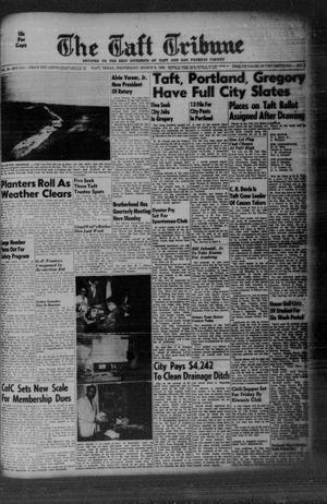 Primary view of object titled 'The Taft Tribune (Taft, Tex.), Vol. 38, No. 2, Ed. 1 Wednesday, March 9, 1960'.