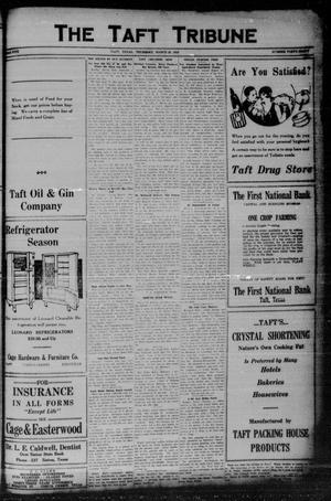 Primary view of object titled 'The Taft Tribune (Taft, Tex.), Vol. 5, No. 48, Ed. 1 Thursday, March 25, 1926'.