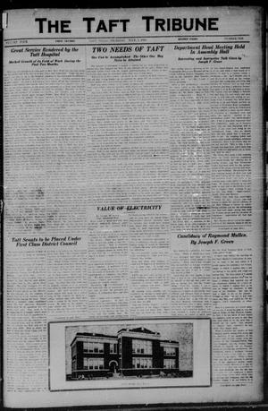 Primary view of object titled 'The Taft Tribune (Taft, Tex.), Vol. 4, No. 10, Ed. 1 Thursday, July 3, 1924'.