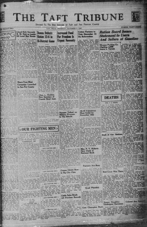Primary view of object titled 'The Taft Tribune (Taft, Tex.), Vol. 22, No. 33, Ed. 1 Thursday, December 3, 1942'.