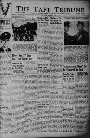 Primary view of object titled 'The Taft Tribune (Taft, Tex.), Vol. 24, No. 5, Ed. 1 Monday, May 1, 1944'.