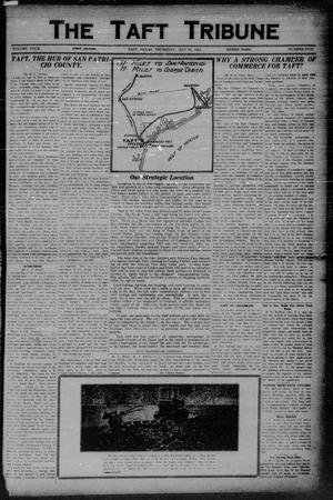 Primary view of object titled 'The Taft Tribune (Taft, Tex.), Vol. 4, No. 5, Ed. 1 Thursday, May 29, 1924'.