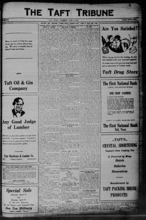 Primary view of object titled 'The Taft Tribune (Taft, Tex.), Vol. 5, No. 51, Ed. 1 Thursday, April 15, 1926'.