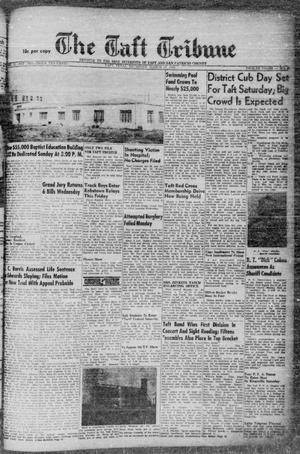 Primary view of object titled 'The Taft Tribune (Taft, Tex.), Vol. 32, No. 3, Ed. 1 Thursday, March 25, 1954'.