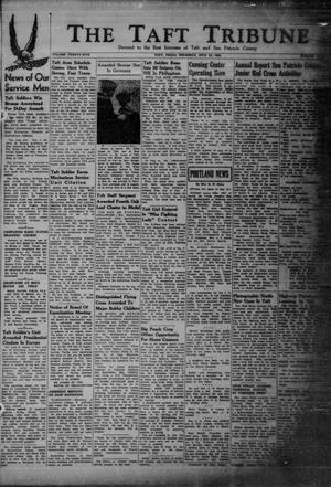 Primary view of object titled 'The Taft Tribune (Taft, Tex.), Vol. 25, No. 9, Ed. 1 Thursday, July 12, 1945'.