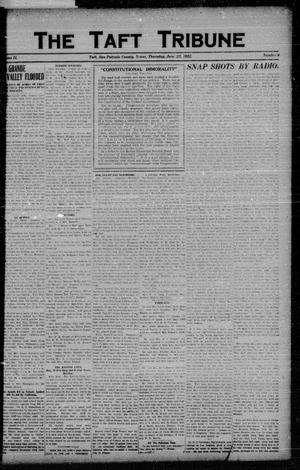 Primary view of object titled 'The Taft Tribune (Taft, Tex.), Vol. 2, No. 8, Ed. 1 Thursday, June 22, 1922'.