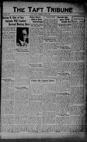 Primary view of object titled 'The Taft Tribune (Taft, Tex.), Vol. 9, No. 6, Ed. 1 Thursday, June 6, 1929'.