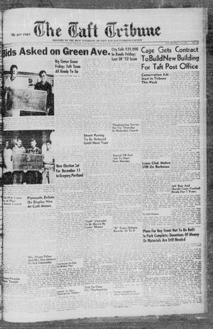 Primary view of object titled 'The Taft Tribune (Taft, Tex.), Vol. 32, No. 37, Ed. 1 Thursday, November 18, 1954'.