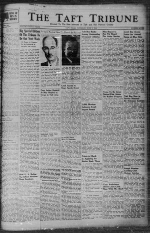 Primary view of object titled 'The Taft Tribune (Taft, Tex.), Vol. 23, No. 7, Ed. 1 Thursday, June 3, 1943'.