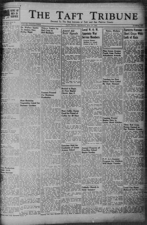 Primary view of object titled 'The Taft Tribune (Taft, Tex.), Vol. 23, No. 6, Ed. 1 Thursday, May 27, 1943'.