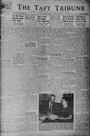 Primary view of object titled 'The Taft Tribune (Taft, Tex.), Vol. 23, No. 16, Ed. 1 Thursday, August 5, 1943'.