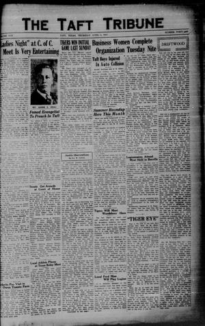 Primary view of object titled 'The Taft Tribune (Taft, Tex.), Vol. 10, No. 47, Ed. 1 Thursday, April 2, 1931'.