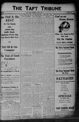 Primary view of object titled 'The Taft Tribune (Taft, Tex.), Vol. 6, No. 6, Ed. 1 Thursday, June 10, 1926'.