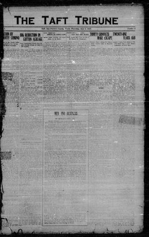Primary view of object titled 'The Taft Tribune (Taft, Tex.), Vol. 1, No. 6, Ed. 1 Thursday, June 9, 1921'.