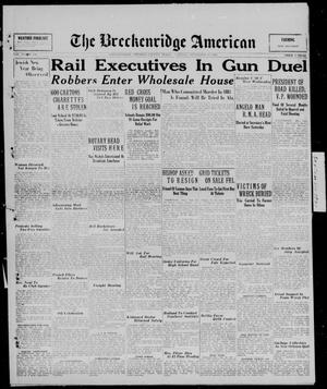 Primary view of object titled 'The Breckenridge American (Breckenridge, Tex.), Vol. 10, No. 256, Ed. 1, Tuesday, September 23, 1930'.