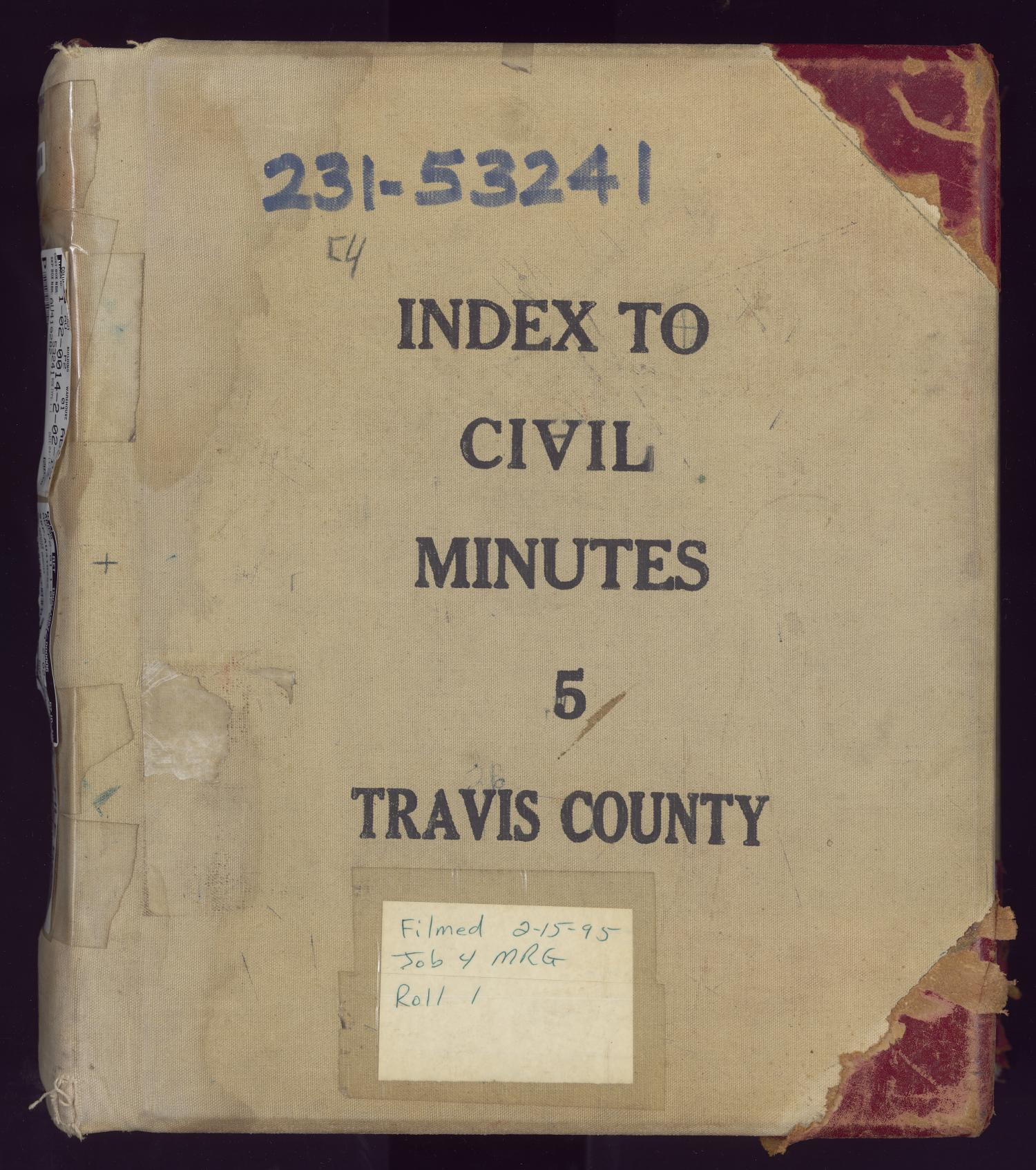 District Clerk | Travis County Archives